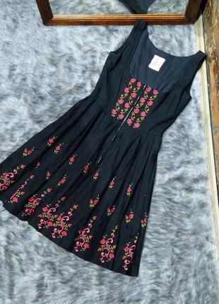 Вышиванка платье с вышивкой