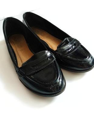Sale лаковые лоферы туфли балетки