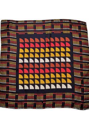 Модный шелковый платок стиль lanvin /1550/