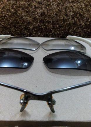 Солнцезащитные очки  со сменными линзами4 фото
