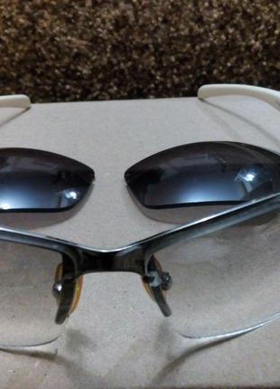 Солнцезащитные очки  со сменными линзами5 фото