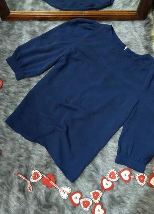 Блуза топ кофточка с акцентными рукавами dorothy perkins
