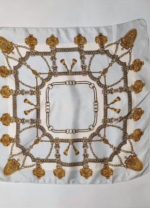 Шелковый шейный платок /1551/