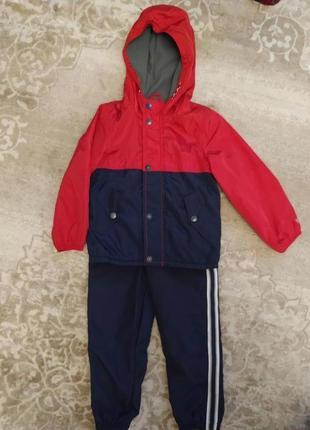 Oshkosh костюм демисезонный комплект теплый утеплённый куртка штаны спортивный костюм