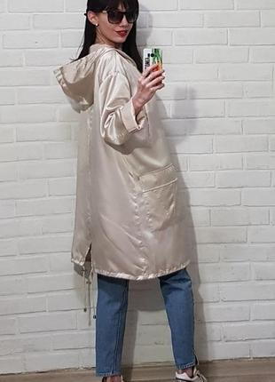 Стильная куртка ветровка7 фото