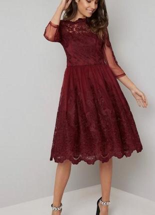 Випускна сукня міді chi chi london