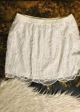 Воздушная ажурная юбка