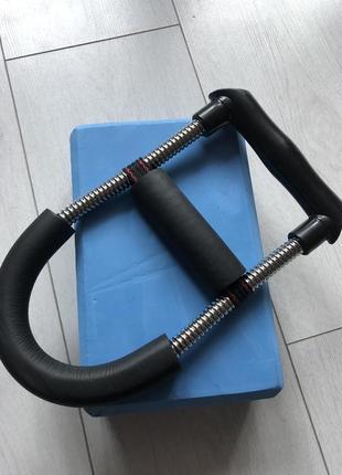 Еспандер та блок для йоги