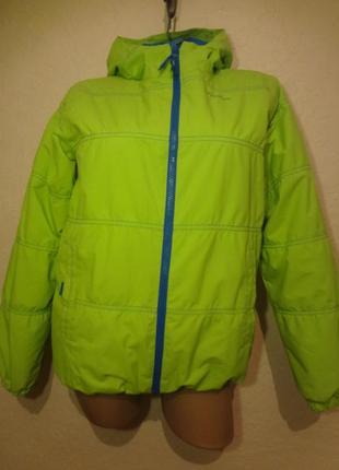 Демисезонная теплая куртка decathlon quechua размер м