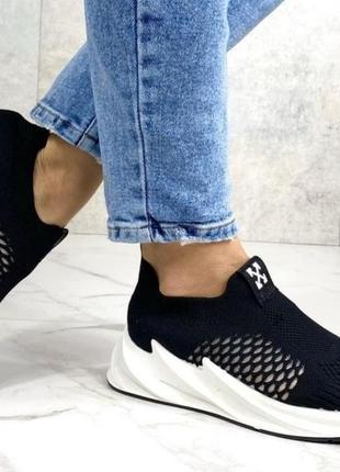 Бомбические кроссовки на платформе