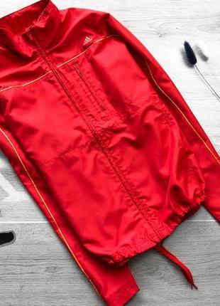 Спортивная яркая куртка/ветровка adidas