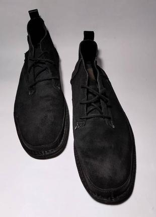 Замш + кожа фирменные ботинки туфли, сапожки, сапоги, кроссовки,