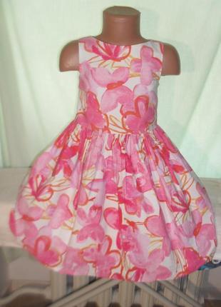 Платье некст на 6лет рост 116
