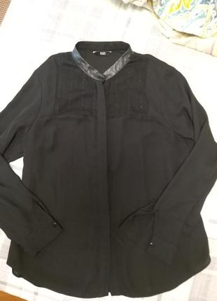 Стильная блуза рубашка f&f2 фото