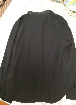 Стильная блуза рубашка f&f3 фото