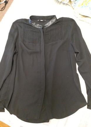 Стильная блуза рубашка f&f7 фото