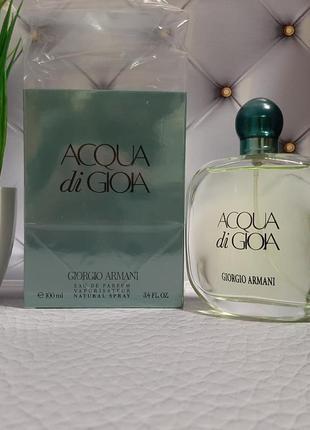 🟢оригинал🟢 100 мл женская парфюмерная вода armani acqua di gioia цветочные
