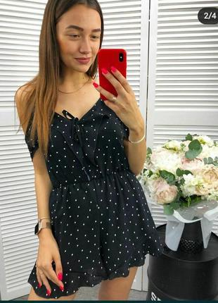 Комбинезон ромпер шорты платье