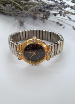 Часы j.d. diana (кварц) 90-е годы винтаж с металлическим браслетом