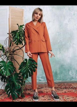 Костюм брюки пиджак дизайнерский костюм