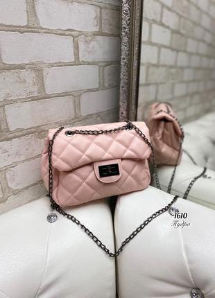 Новая милая сумочка пудра, клатч