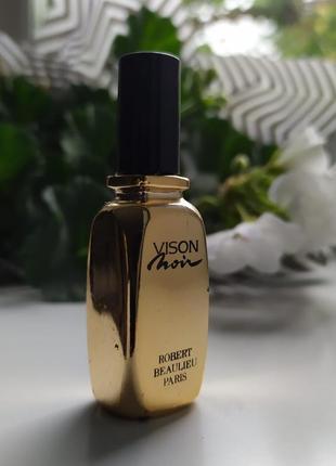 Vison noir robert beaulieu, винтажная миниатюра, парфюмированная вода, 7 мл