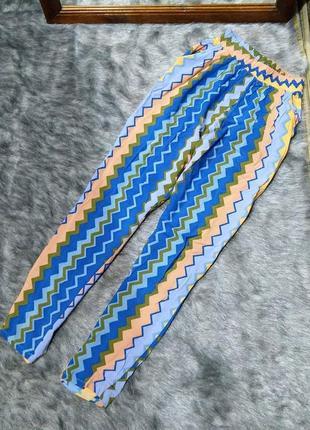 Летние штаны из хлопка/ситца