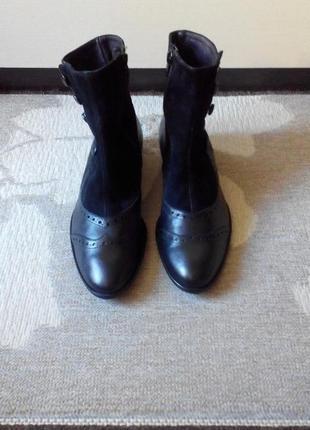 Кожаные итальянские ботинки premium