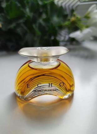 Echo mario valentino, винтажная миниатюра, парфюмированная вода, 5 мл, редкость!