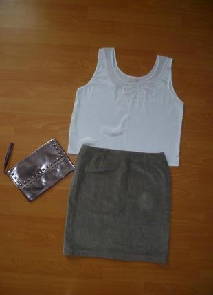 Юбка вельветовая, мини юбка вельвет,спідниця міні вельветова италия
