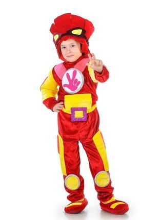 Дитячий святковий костюм фіксика «фаєр»