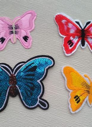 Бабочки/бабочка/метелик/патч/наклейка/нашивка/термонаклейки