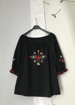 Черная вышиванка