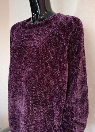Красивый плюшевый свитер george батал