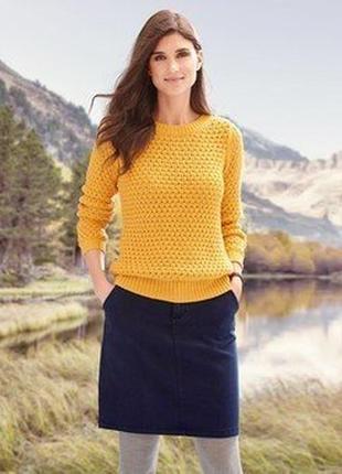 Классическая качественная юбка от тсм чибо (германия), размер 42 евро=48-50наш