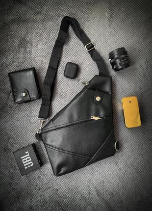 Новая крутая сумка-мессенджер cross body / через плече / бананка / клатч