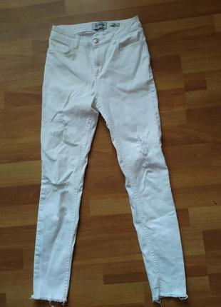 Білі штани брюки