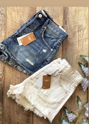 Mango - джинсовые шорты mom