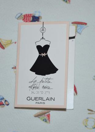 Guerlain   la  petite robe noire пробник духов