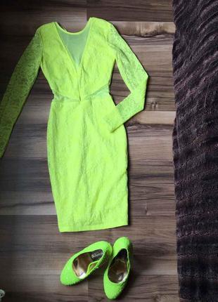 Яркое платье на девочку tally weijl