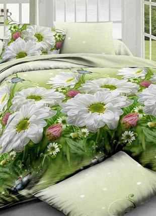 Постельное белье ранфорс r879 цветы
