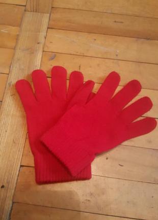 Детские акриловые перчатки