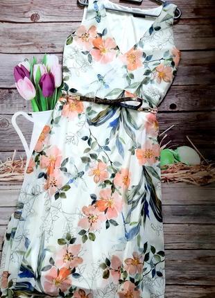 Самое красивое платье шифоновое