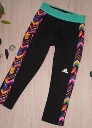 Спортивные капри  adidas. размер хs, 4-6