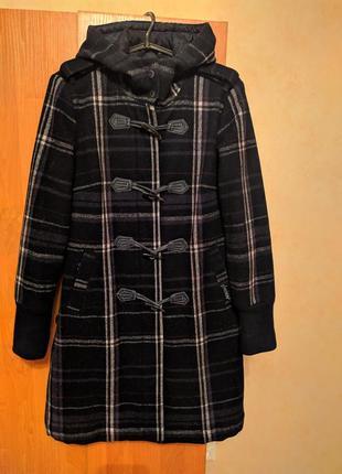 Пальто-дафлкот шерстяное firetrap (англия)