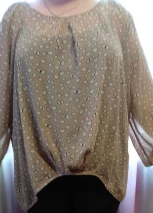 Блуза батольного разміру! 1+1 =3