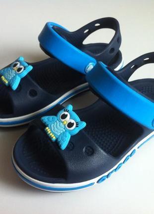 Босоножки, сандалии crocs crocband ☀️😎  🦉 🦉 размер с 8 {24,5 - 25 } 15 см оригинал ❗❗❗