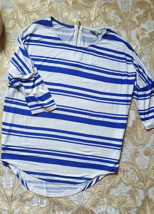 Яркая блуза. на бирке- 10 р-р(44-46)