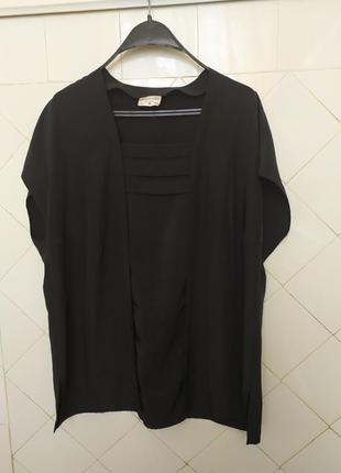 Германия.блуза черная.батал