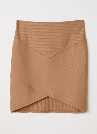 Женская узкая юбка беж h&m, р. xl